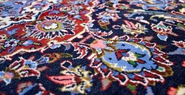 Residential and commercial interior cleaning in Phoenix by First Glass Green Cleaning showing oriental rug